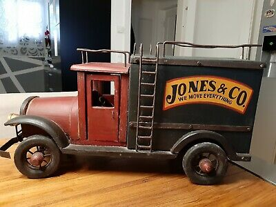 Jones & co  we mowe everything   - vintage truck   very rare