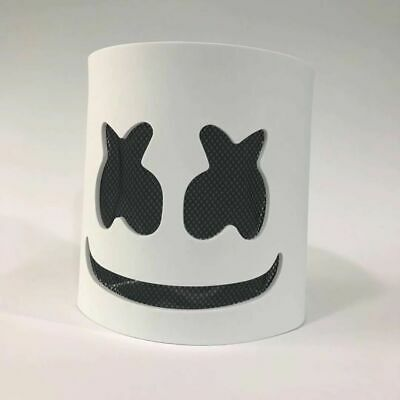 Mask Dj Marshmallow Cosplay Helmet Music Full Led Marshmello Party Head Bar Prop