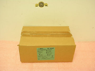Meltric 33-60167-MA6 60Amp 1 Type DS Decontactor Receptacle Metal 30AngleNEW BOX