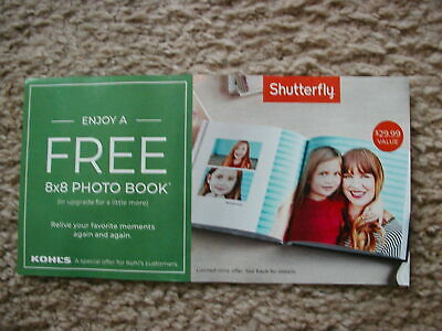 Shutterfly Free 8 x 8 20 page HardCover Photo Book ($29.99) Code, Exp 07/31/2019