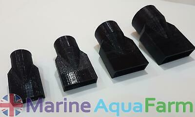 AQUARIUM DUCKBILL END RETURN PIPES 20mm 25mm 32mm 40mm MARINE SUMP PUMP