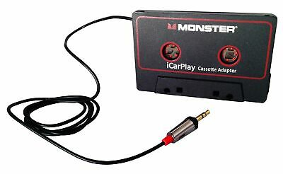 Monster iCarPlay 800 Cassette Adapter - iPod, iPhone, Android - Open Box