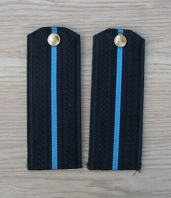 Soviet Russian Navy Air Force. Shoulder boards younger officers arr. 1969