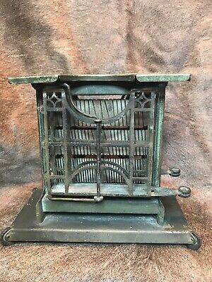 Antique Universal Toaster. Patent Date February 6, 1906. In Amazing Condition!