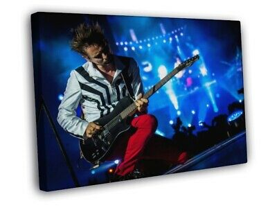 Muse Guitar Rock Band Music FRAMED CANVAS WALL PRINT