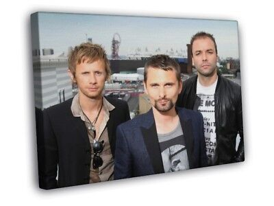 Muse Rock Band Music FRAMED CANVAS WALL PRINT