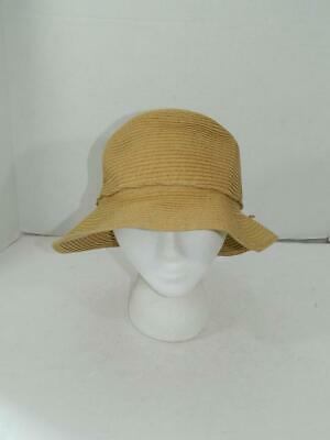 73c66873557bd August Hat Company Women's Natural Forever Classic Cloche NWT One Size A1