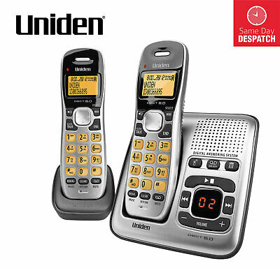 UNIDEN DECT 1735+1 DIGITAL PHONE SYSTEM WITH POWER FAILURE BACKUP Wi-Fi FRIENDLY