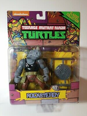 Playmates Nickelodeon TMNT Classic Collection Turtles Rocksteady 2015 NEW