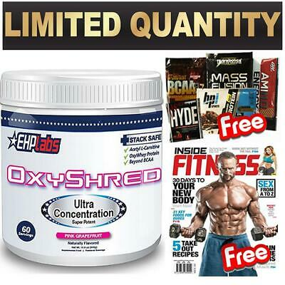 Ehplabs Oxyshred Thermogenic Fat Burning Weight Loss Oxy Shred Ehp Laps Thermo