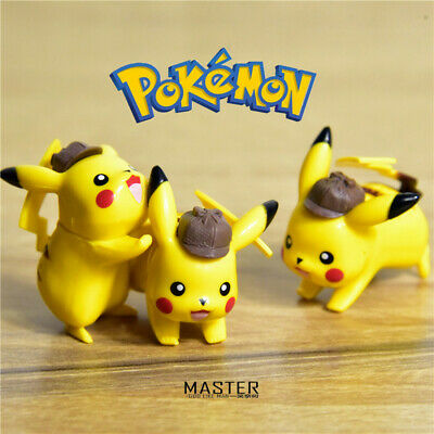 Detective Pikachu mini Figure Collection 3.5CM