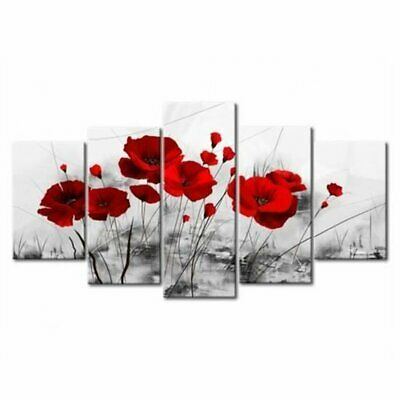 5Pcs/Set Modern Canvas Print Painting Poster Wall Art Picture Decor Unframed