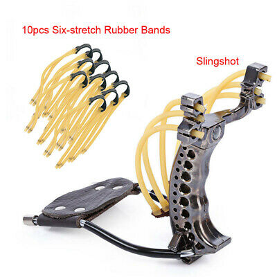 Powerful Slingshot Rubber Bands Wrist Catapult Outdoor Equipment Hunting Tools