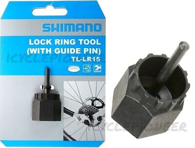 SHIMANO TL-LR15 LOCKRING WITH AXLE PIN BICYCLE TOOL