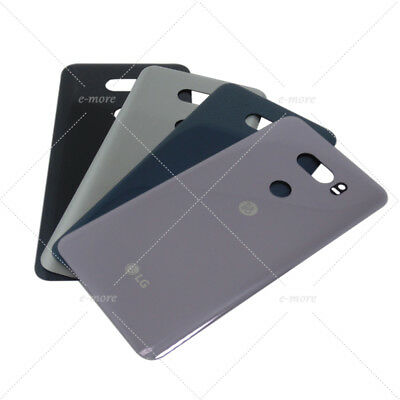 OEM For LG V30 Rear Battery Glass Cover Back Housing Door Replacement + Adhesive