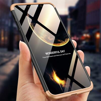 ShockProof 360 Hybrid Matte Slim Thin Case Cover For Apple iPhone X 8 7 Plus 6 5
