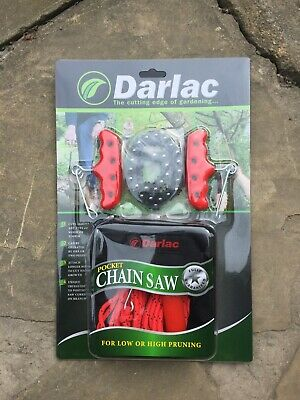 Darlac DP164 Pocket Chainsaw - Pruning, Cutting, Camping, Log, Tree, Chain Saw