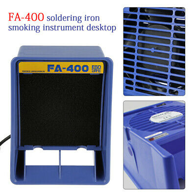 13W Solder Smoke Absorber Remover Fume Extractor Air Filter Fan For Soldering
