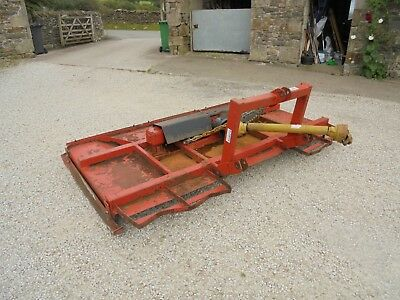 #B0744 Slewtic 8 foot twin blade rotary pasture topper Finishing mower Slasher