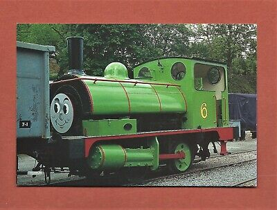 Unused Postcard - Keighley And Worth Valley Railway Percy The Pug