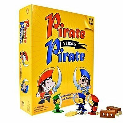 BOARD GAMES FOR Kids - Pirate vs Pirate Strategy Game