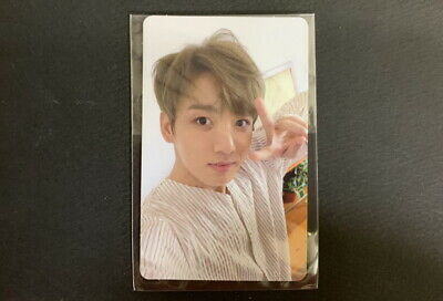 Bts-Love Your Self  Photo Card Jungkook 4