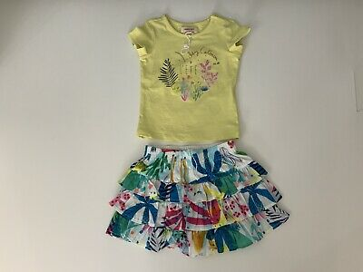 Catimini Baby Girls Outfit Set, Size Age 12 Months, Skirt & Top, New, Bnwot