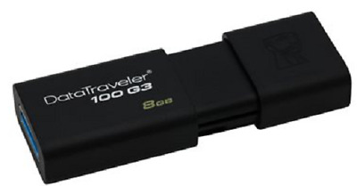 Clé usb 8 go Kingston cle usb 8 go DataTraveler 100 G3 USB 3.1 / USB 3.0