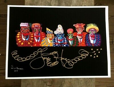 """/""""NEW ORLEANS NIGHT OWLS/"""" Jamie Hayes GICLEE SIGNED /& NUMBERED SIGNING MOON"""