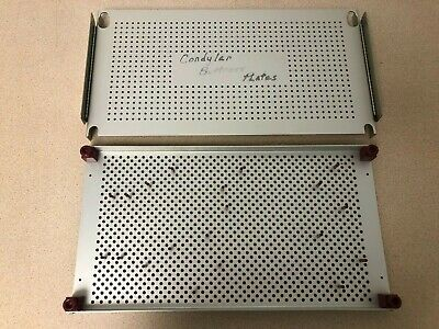 """Synthes Autoclave Sterilization Tray 19.5"""" x 10"""" for Surgical Instruments"""