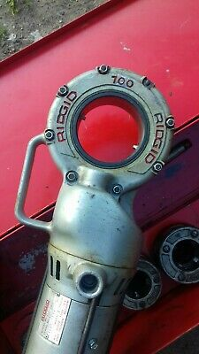 Ridgid 100 Pipe Threader with dies up to 2inch