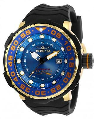 Invicta Men's 28784 'Pro Diver' Automatic Black Silicone Watch