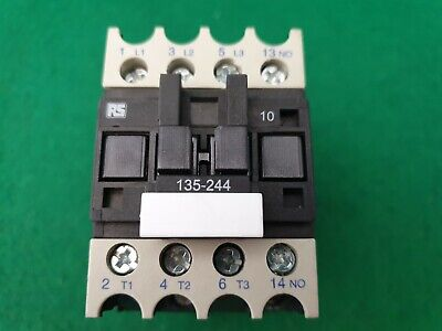 RS Components 135-244 Contactor 230 V Coil 4Kw