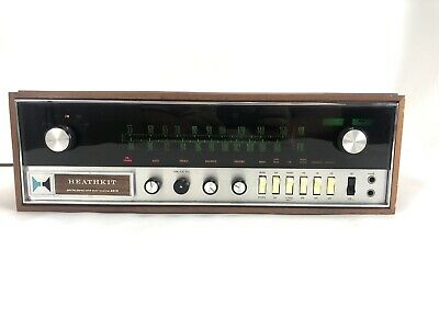 Vintage HEATHKIT Model AR 15 AM FM Stereo Solid State Receiver AR-15 from 1973