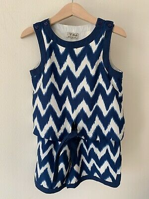 Girls Next Age 5 Navy Blue Playsuit 4-5 Years