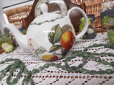 Beautiful Vintage ROYAL BOTANICAL GARDENS KEW POMME DE CHATAIGNIER TEAPOT VGC