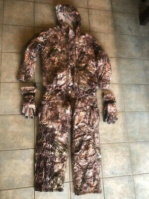 a292e64f3c548 Cabelas MT050 Gore Tex Hunting Jacket L and Pant 34 XL Gloves zonz woodland  camo