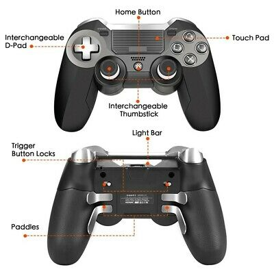 PS4 Controller Wireless Dualshock Gamepad Bluetooth Console Controller Scuf Pad