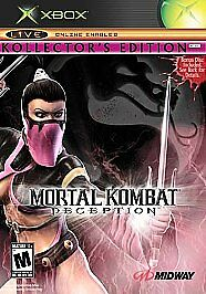 Mortal Kombat: Deception -- Kollector's Edition (Microsoft Xbox, 2004)