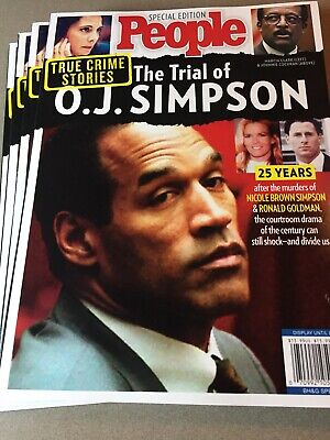 People Special The Trial of OJ Simpson 25 Years Later True Crime Stories