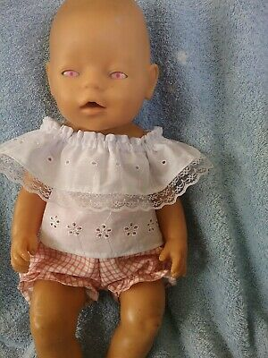 """17""""Zaph Baby Born and Interactive Sister clothes"""