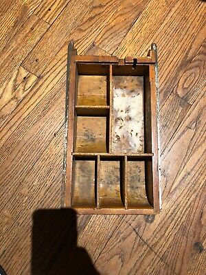 Antique Brass National Cash Register Model 313 Drawer NCR BARBER CANDY BEAUTY