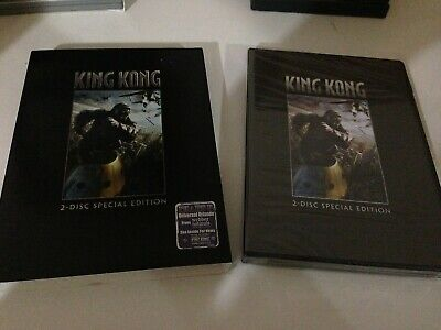 King Kong DVD 2-Disc Special Edition NEW & SEALED With Slipcover! FREE USA SHIP!