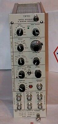 Stanford Research Systems SR250 Gated Integrator & Boxcar Averager NIM Module