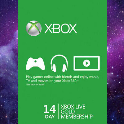 14 Day Xbox Live Gold Trial Membership (Xbox One/360) FAST DISPATCH
