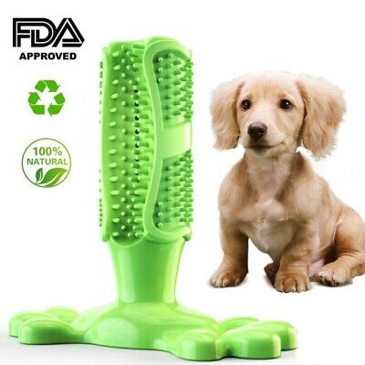 Dog Toothbrush Chew Stick Cleaning Toy Silicone Pet Brushing Oral Dental CareHOT