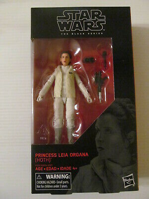 SIX INCH ACTION FIGURE HOTH STAR WARS THE BLACK SERIES 75 PRINCESS LEIA ORGANA