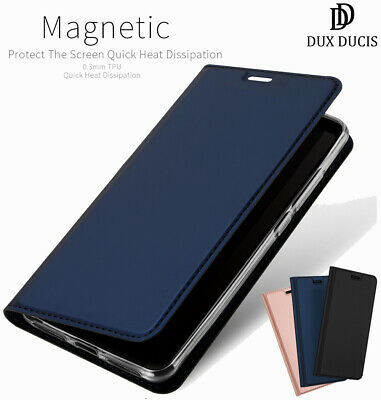 DD For Xiaomi Redmi Note 6 Pro Flip PU Leather Case Wallet Smart Magnetic Cover