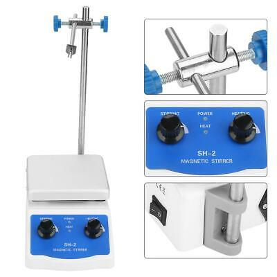 Magnetic Stirrer Max 380℃ Heating Hot Plate Mixer Electric Stir Bar 1600rpm