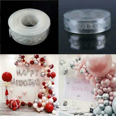 Balloon Arch Garland Decorating Strip Kit 5 Rolls 25M Balloon Tape Strips Party